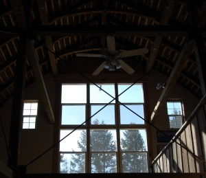 Upstairs windows, Dahmen Barn