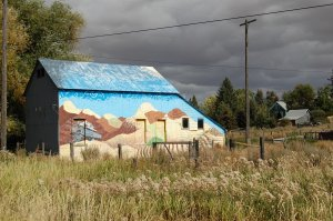 Barn mural, Uniontown